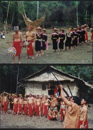 How the Lun Bawang tribe look like in the old days